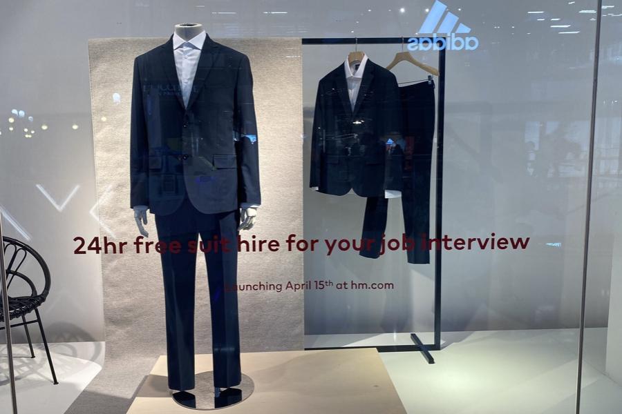 H&M запустила бесплатный прокат костюмов для собеседования
